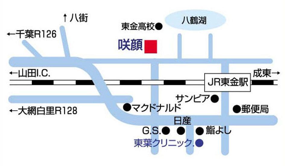 MAP_咲顔